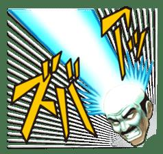 Exciting! Mr. bald head sticker #59444