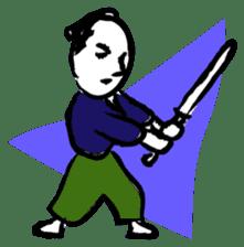 Samurai Kenji sticker #59495