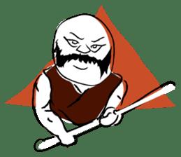 Samurai Kenji sticker #59501