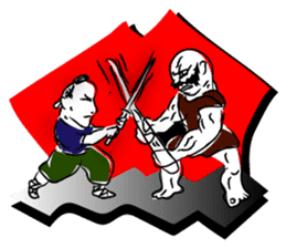 Samurai Kenji sticker #59533