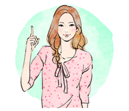 GIRL'S TALK sticker #59818
