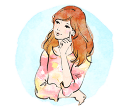 GIRL'S TALK sticker #59828