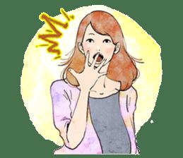 GIRL'S TALK sticker #59831