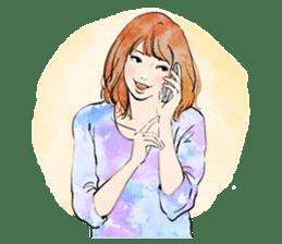 GIRL'S TALK sticker #59844