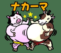 Animal Rikishi sticker #60057