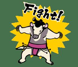 Animal Rikishi sticker #60069