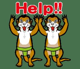 Animal Rikishi sticker #60076