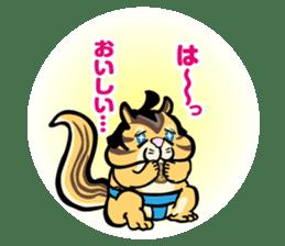 Animal Rikishi sticker #60085