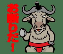 Animal Rikishi sticker #60088