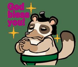 Animal Rikishi sticker #60089