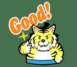 Animal Rikishi sticker #60090