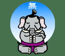 Animal Rikishi sticker #60093