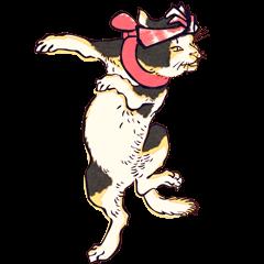 Japanese Ukiyo-e Cats