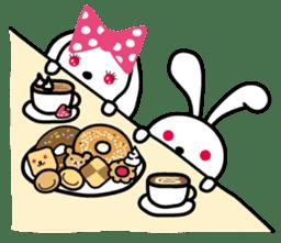 Kimi to Boku no Usaokun sticker #60158