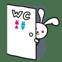 Kimi to Boku no Usaokun sticker #60162