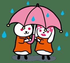 Kimi to Boku no Usaokun sticker #60168