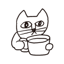 Cat sticker #60299