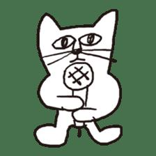 Cat sticker #60305