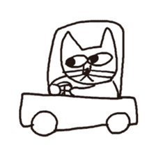 Cat sticker #60315