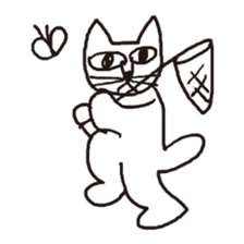 Cat sticker #60331