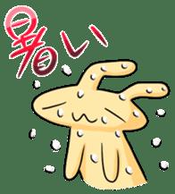 conejoro rabbit sticker #60858