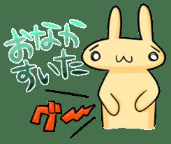 conejoro rabbit sticker #60860