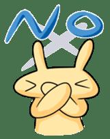conejoro rabbit sticker #60867