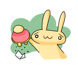 conejoro rabbit sticker #60869