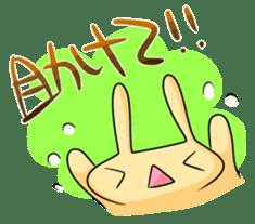 conejoro rabbit sticker #60872