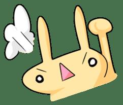 conejoro rabbit sticker #60874
