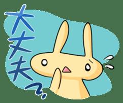 conejoro rabbit sticker #60877