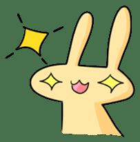 conejoro rabbit sticker #60886