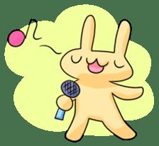 conejoro rabbit sticker #60890