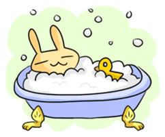 conejoro rabbit sticker #60892