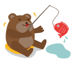 The small bear brothers sticker #60954