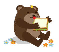 The small bear brothers sticker #60968