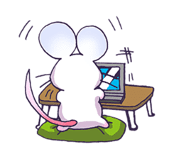 Haccal mouse2 sticker #61294