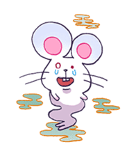 Haccal mouse2 sticker #61298