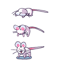Haccal mouse2 sticker #61301