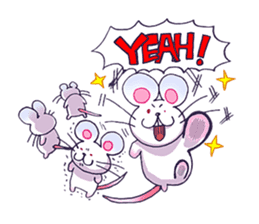 Haccal mouse2 sticker #61304