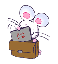 Haccal mouse2 sticker #61305