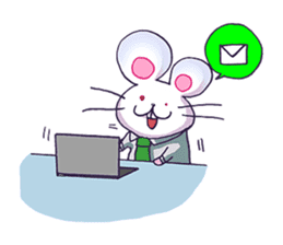 Haccal mouse2 sticker #61312