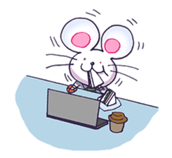 Haccal mouse2 sticker #61315