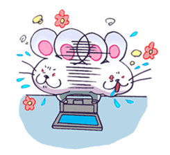Haccal mouse2 sticker #61318