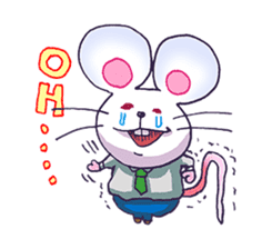 Haccal mouse2 sticker #61322