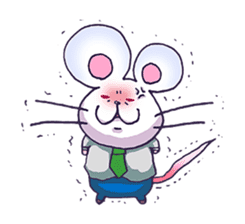 Haccal mouse2 sticker #61325
