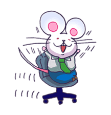 Haccal mouse2 sticker #61331