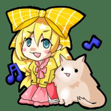 Magical Kukusama sticker #61499