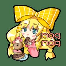 Magical Kukusama sticker #61502