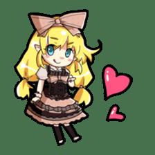 Magical Kukusama sticker #61520